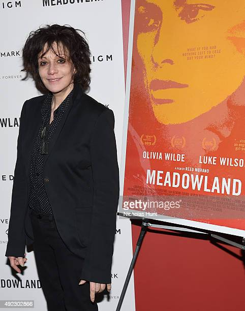 Amy Heckerling attends the Meadowland New York Premiere at Sunshine Landmark on October 11 2015 in New York City
