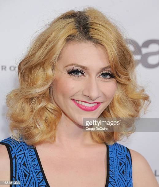 Amy Heidemann of Karmin arrives at the NARM Music Biz Awards dinner party at the Hyatt Regency Century Plaza on May 9 2013 in Century City California