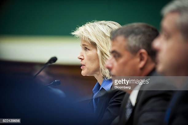 Amy Hess executive assistant director for science and technology at the Federal Bureau of Investigation left speaks at a House Energy and Commerce...