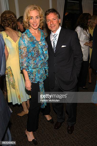 Amy Hoadley and attend Lenox Hill Neighborhood House Celebrates the 40th Anniversary of the DD Building at DD Building on September 13 2005 in New...