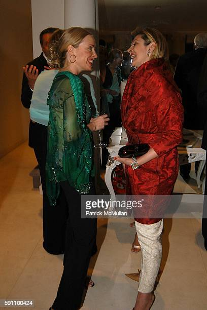 Amy Hoadley and Helena Lehane attend Geoffrey Bradfield's Cocktail Reception in Honor of The Kips Bay Boys Girls Club 33rd Annual Decorator Show...
