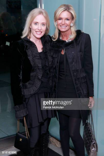 Amy Hoadley and Lisa Selby attend GEOFFREY BRADFIELD'S 'THE QUICK AND THE DEAD' Opening at Sebastian Barquet Gallery on November 1st 2010 in New York...
