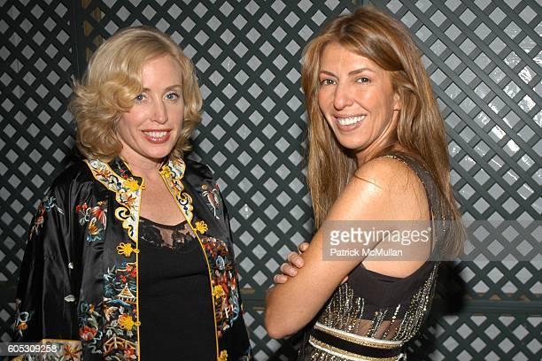 Amy Hoadley and Nina Garcia attend Geoffrey Bradfield's Dinner for Douglas Hannant at Geoffrey Bradfield Townhouse on May 11 2006 in New York City