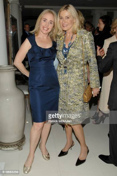 Amy Hoadley and Susan Magrino Dunning attend Geoffrey Bradfield's Reception for HRH The Prince Edward and the Duke of Edinburgh's Awards at Geoffrey...