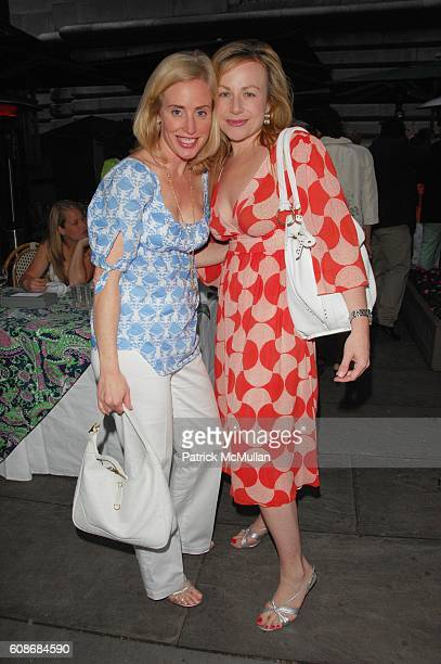 Amy Hoadley and Victoria Ashley attend LILLY PULITZER and THE ASSOCIATES COMMITTEE hosts A PARTY IN THE PARK benefit for LENOX HILL NEIGHBORHOOD...