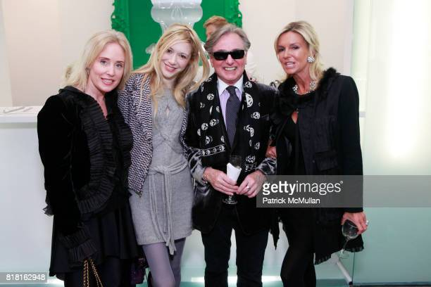 Amy Hoadley Melissa Berkelhammer Geoffrey Bradfield and Lisa Selby attend GEOFFREY BRADFIELD'S 'THE QUICK AND THE DEAD' Opening at Sebastian Barquet...