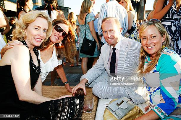 Amy Hoadley Polly Onet Mark Gilberstson and Courtney Blaisdell attend MILLY Cabana and Resort Runway Show and Party at The Xchange on June 11 2008 in...