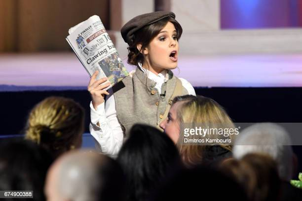 Amy Hoggart onstage during Full Frontal With Samantha Bee's Not The White House Correspondents' Dinner at DAR Constitution Hall on April 29 2017 in...