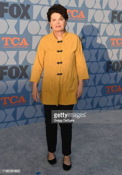 Amy Holden Jones arrives at the FOX Summer TCA 2019 All-Star Party at Fox Studios on August 7, 2019 in Los Angeles, California.