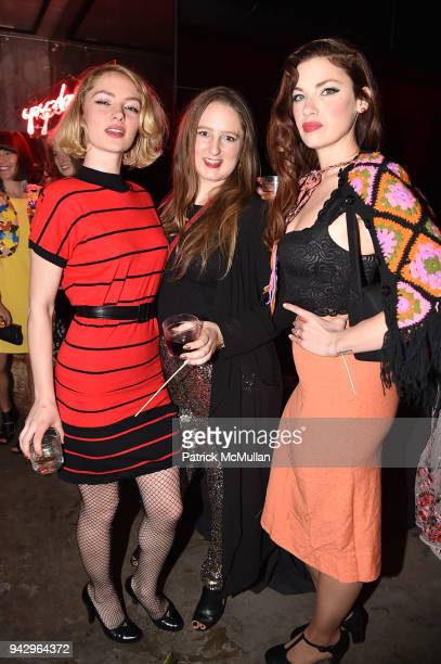 Amy Hood Callie Roth and Bode attend the Spring Party to benefit Aperture and to celebrate The Photographer in the Garden at Public Hotel on April 6...