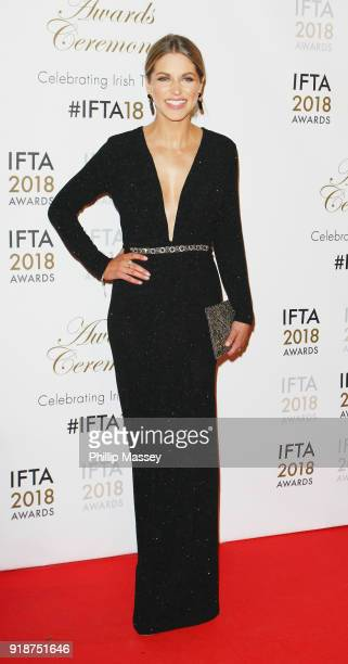 Amy Huberman attends the 'IFTA Film Drama Awards' at Mansion House on February 15 2018 in Dublin Ireland