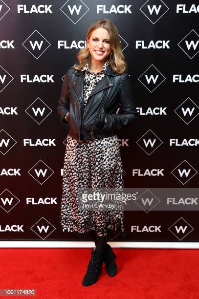 Amy Huberman attends the Premiere of UKTV's new series 'Flack' at Ham Yard Hotel on November 13 2018 in London England