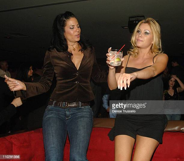 Amy Hunter and Shanna Moakler during Shanna Moakler's Divorce Party at LIGHT Nightclub at The Bellagio Hotel and Casino Resort at LIGHT Nightclub at...
