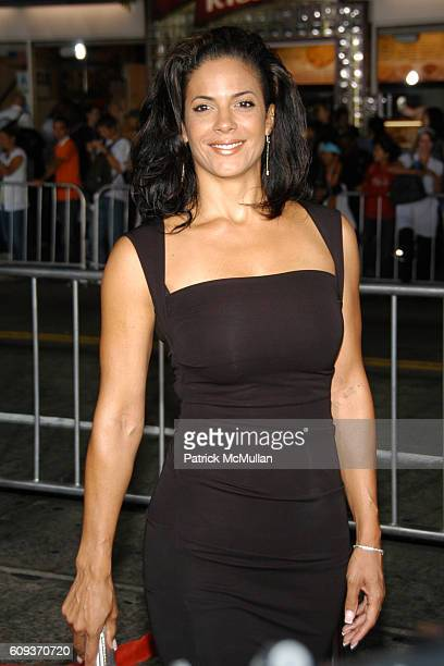 Amy Hunter attends The Kingdom Premiere Arrivals at Westwood on September 17 2007 in Los Angeles CA