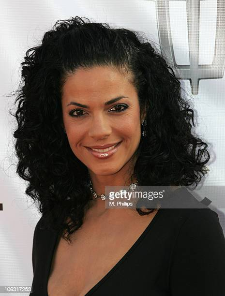 Amy Hunter during 21st Annual Soul Train Music Awards Arrivals at Pasadena Civic Center in Pasadena California United States