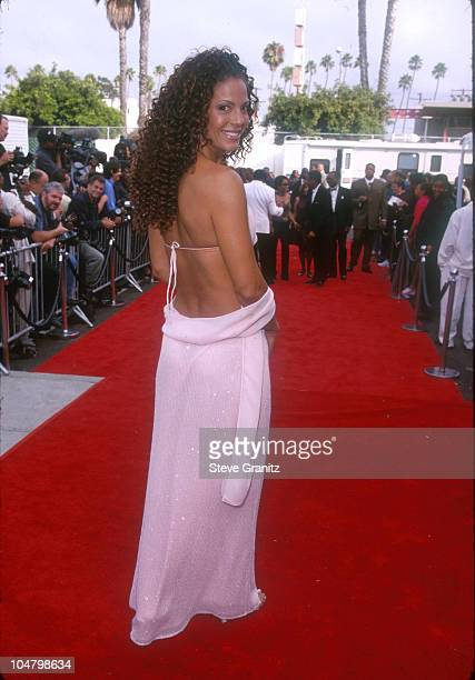 Amy Hunter during The 5th Annual Soul Train Lady of Soul Awards at Santa Monica Civic Auditorium in Santa Monica California United States