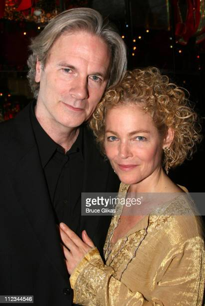 Amy Irving and boyfriend Kenneth Bauser during Opening Night of Tom Stoppard's The Coast of Utopia Voyage at Tavern On The Green in New York NY...