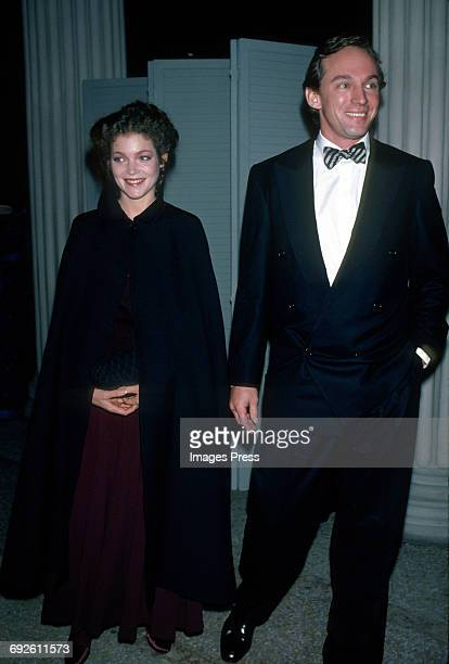 Amy Irving and guest circa 1983 in New York City