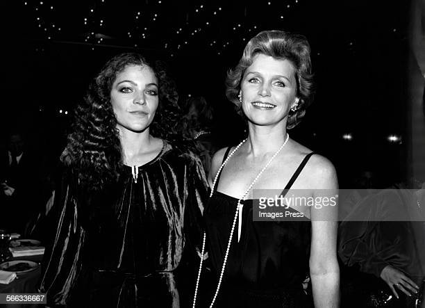 Amy Irving and Lee Remick circa 1980 in New York City