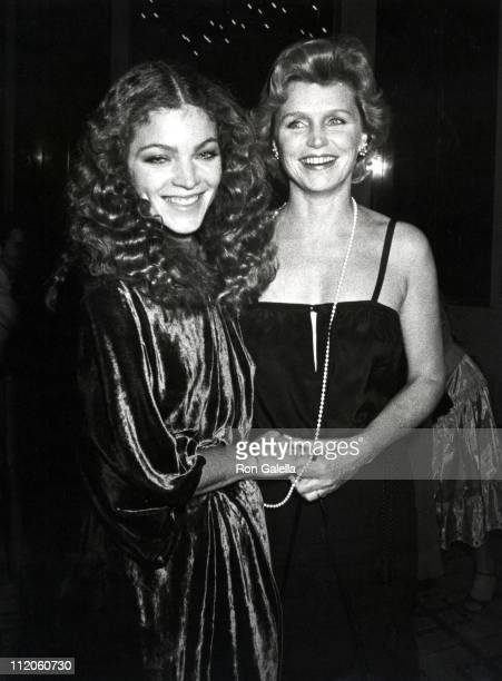 Amy Irving and Lee Remick during 'The Competition' New York City Premiere Party at Time Life Building in New York City New York United States