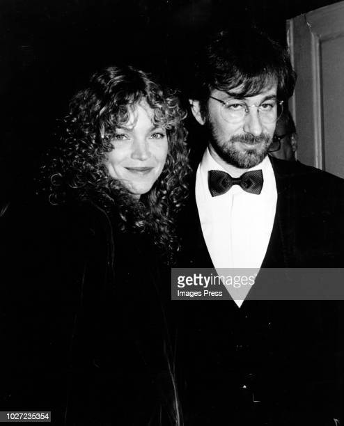 Amy Irving and Steven Spielberg circa 1986 in New York