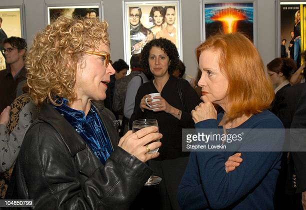 Amy Irving and Swoosie Kurtz during Showtime and the Creative Coalition Host a Private Screening of Soldier's Girl at Paramount Screening Room in New...