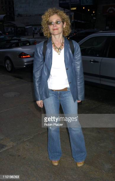 Amy Irving during 3rd Annual Tribeca Film Festival Carandiru New York Premiere After Party at Churrascaria Restaurant in New York City New York...