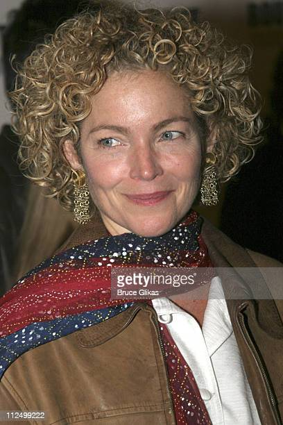 Amy Irving during A Streetcar Named Desire on Broadway Curtain Call and After Party at Roundabout Theater at Studio 54 in New York NY United States
