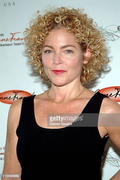 Amy Irving during Anne Frank 75th Birthday Tribute Gala at Pier 60 Chelsea Piers in New York City New York United States