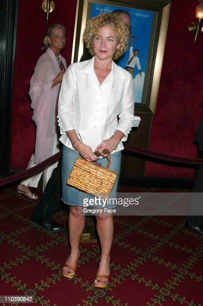 Amy Irving during Bewitched New York City Premiere Inside Arrivals at Ziegfeld Theater in New York City New York United States