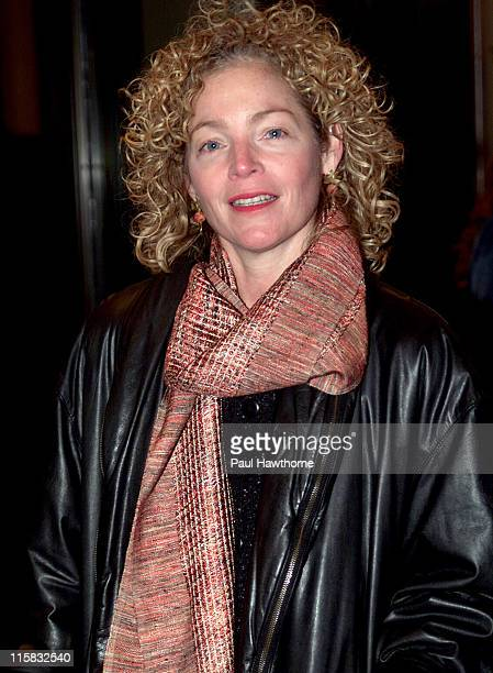 Amy Irving during Opening Night of The Caretaker on Broadway at American Airlines Theatre in New York City New York United States