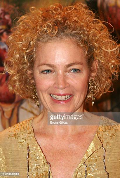 Amy Irving during Opening Night of Tom Stoppard's The Coast of Utopia Voyage at Tavern On The Green in New York NY United States