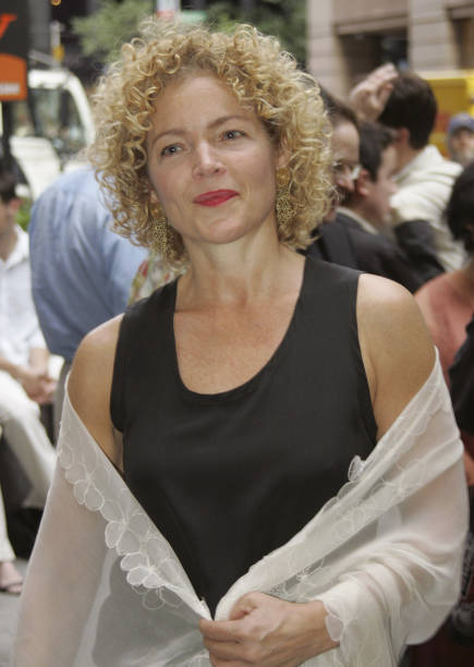 amy irving during the paris