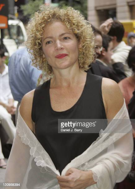 Amy Irving during The Paris Letter Broadway Opening Night at Laura Pels Theatre in New York New York United States