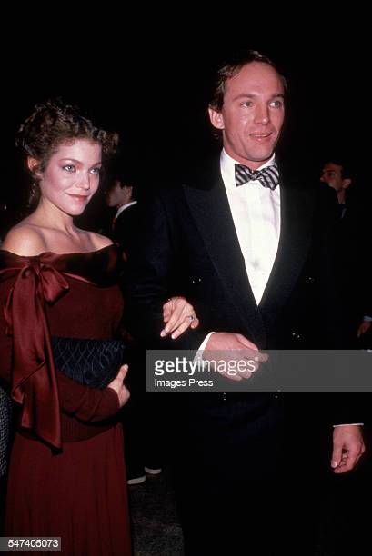 Amy Irving guest attends Metropolitan Museum of Art honoring Yves St Laurent circa 1983 in New York City
