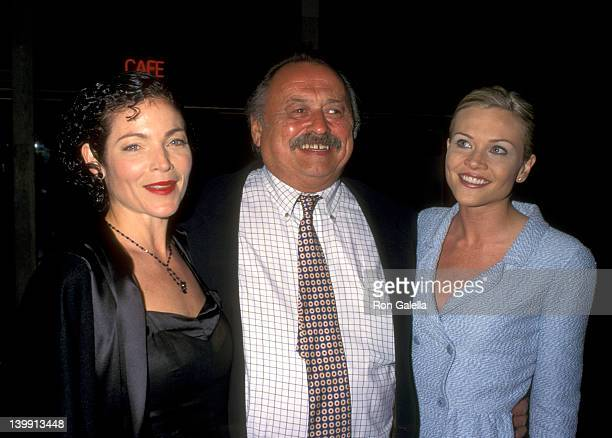 Amy Irving Jim Harrison and Amy Locane at the Premiere of 'Carried Away' Cineplex Odeon Cinemas Century City