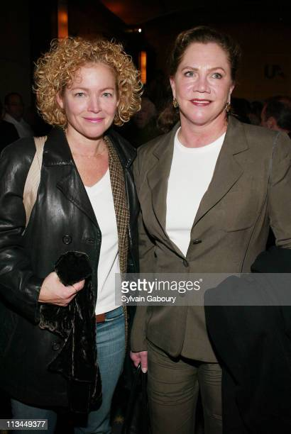 Amy Irving Kathleen Turner during Weinstein Company Screening of Mrs Henderson Presents at The MGM Screening Room in New York New York United States
