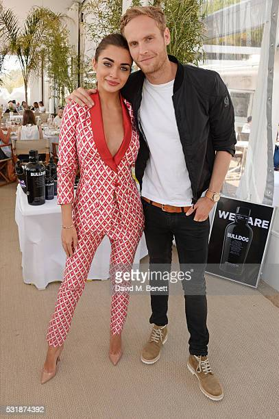 Amy Jackson and Jack Fox attend InStyle's 'Spirit In Film' lunch in partnership with Bulldog Gin during the 69th Cannes Film Festival at Miramar...