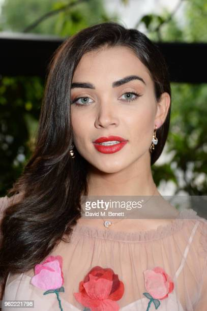 Amy Jackson attends a private dinner hosted by Cartier to celebrate the opening of the British Polo Season at Casa Cruz on May 24 2018 in London...