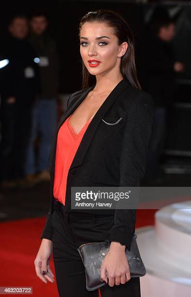 Amy Jackson attends a special screening of 'Focus' at Vue West End on February 11 2015 in London England