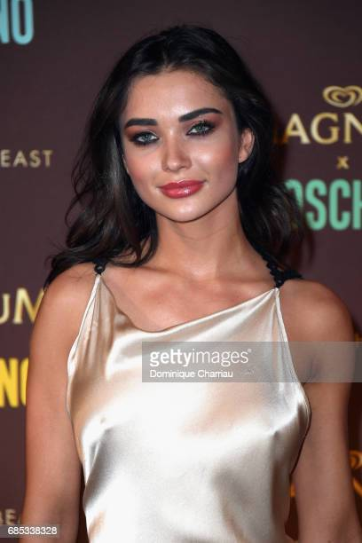 Amy Jackson attends Magnum party during the 70th annual Cannes Film Festival at Magnum Beach on May 18 2017 in Cannes France