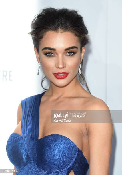 Amy Jackson attends The Asian Awards at the Hilton Park Lane on May 5 2017 in London England