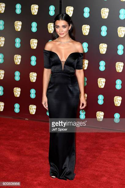 Amy Jackson attends the EE British Academy Film Awards held at Royal Albert Hall on February 18 2018 in London England
