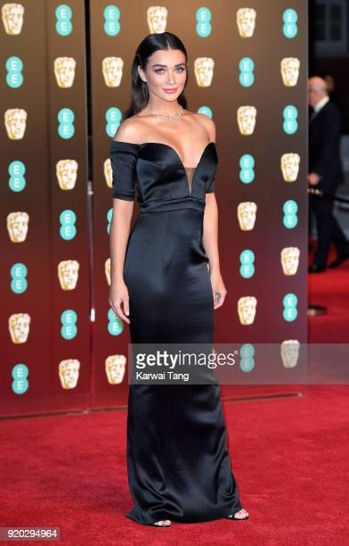 Amy Jackson attends the EE British Academy Film Awards held at the Royal Albert Hall on February 18 2018 in London England