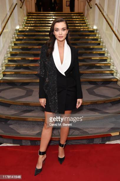 Amy Jackson attends the Ethnicity Awards 2019 at The Grand Connaught Rooms on October 25 2019 in London England