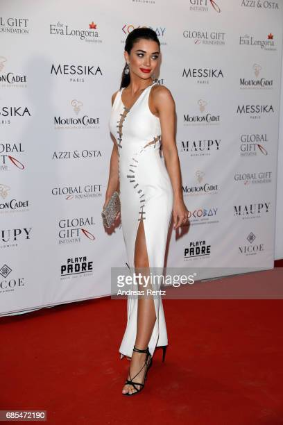 Amy Jackson attends the Eva Longoria Global Gift Gala during the 70th annual Cannes Film Festival at on May 19 2017 in Cannes France