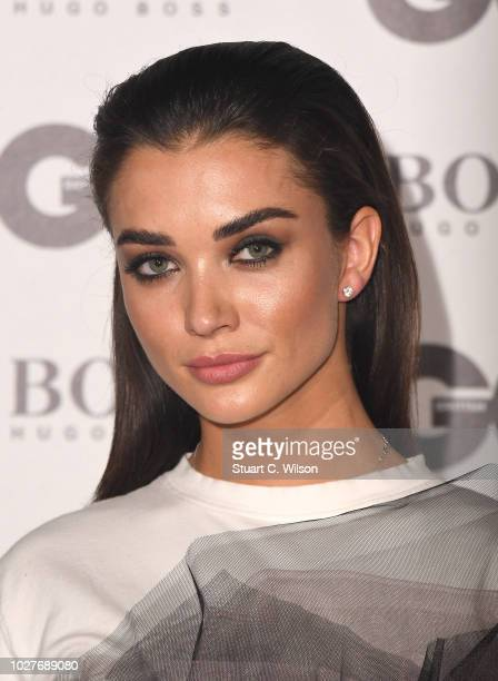Amy Jackson attends the GQ Men of the Year awards at the Tate Modern on September 5 2018 in London England