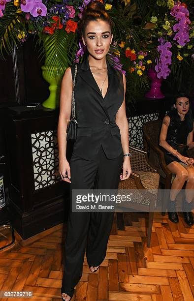 Amy Jackson attends the launch of new luxury hotel The LaLit London on January 26 2017 in London England