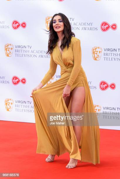 Amy Jackson attends the Virgin TV British Academy Television Awards at The Royal Festival Hall on May 13 2018 in London England