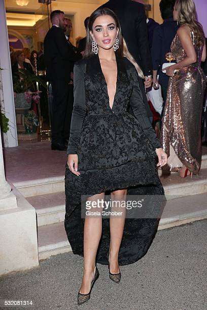 Amy Jackson during the 'De Grisogono' Party at the annual 69th Cannes Film Festival at Hotel du CapEdenRoc on May 17 2016 in Cap d'Antibes France